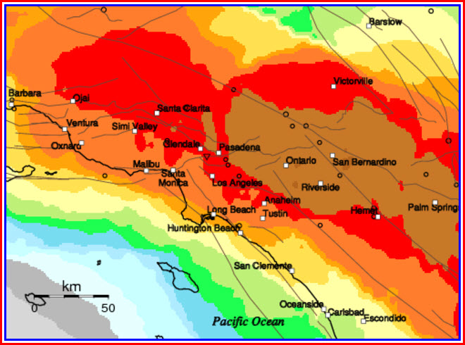 Southern California Earthquake Probabilities Map Chaos Sweeps